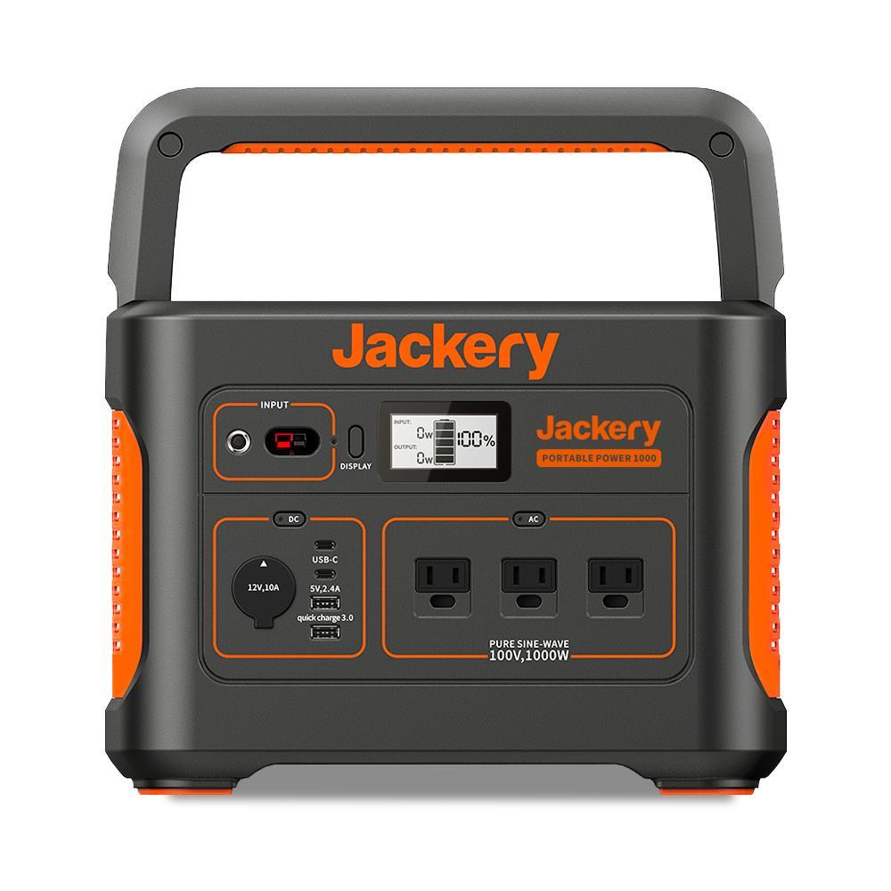 jackeryポータブル電源の画像