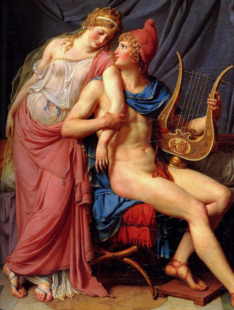 ヘレネーとパリスの愛