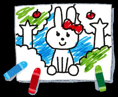 室内で子供と出来る遊び 塗り絵
