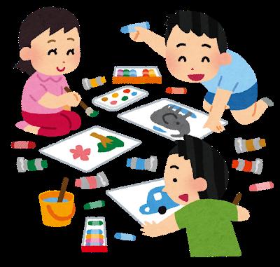 室内で子供と出来る遊び お絵描き